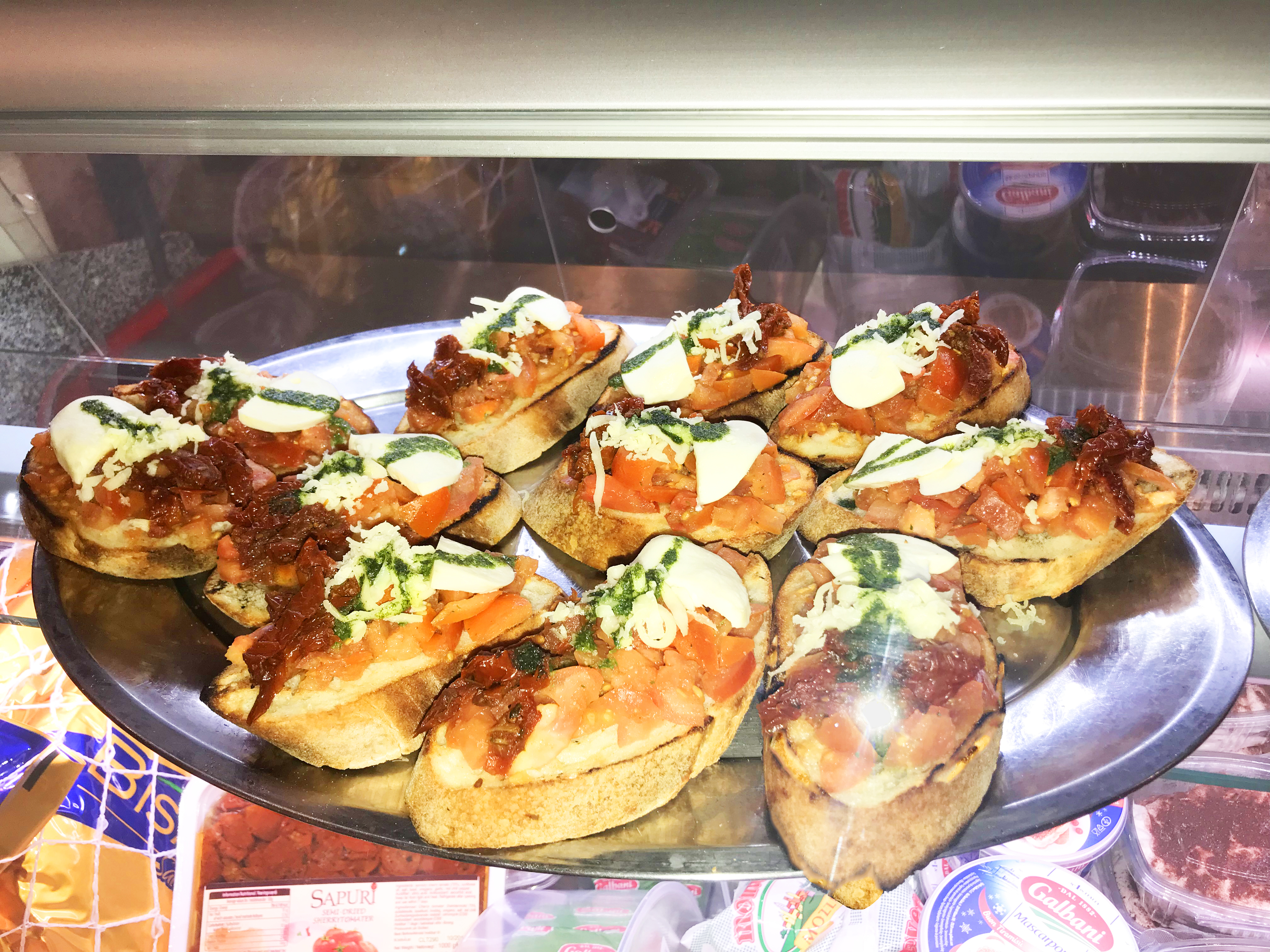 Bruchetta baggrund Gastronomia IMG_9221