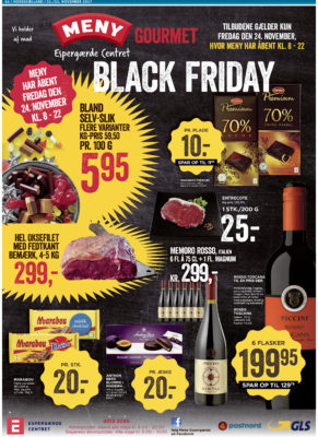 meny black friday