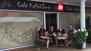 Åbningsreception af Café Kaffeblomst