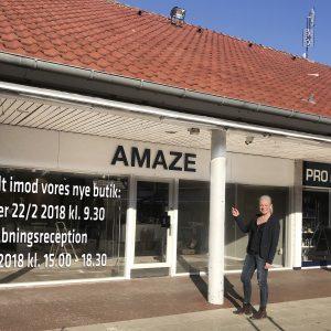 Åbningsreception hos AMAZE