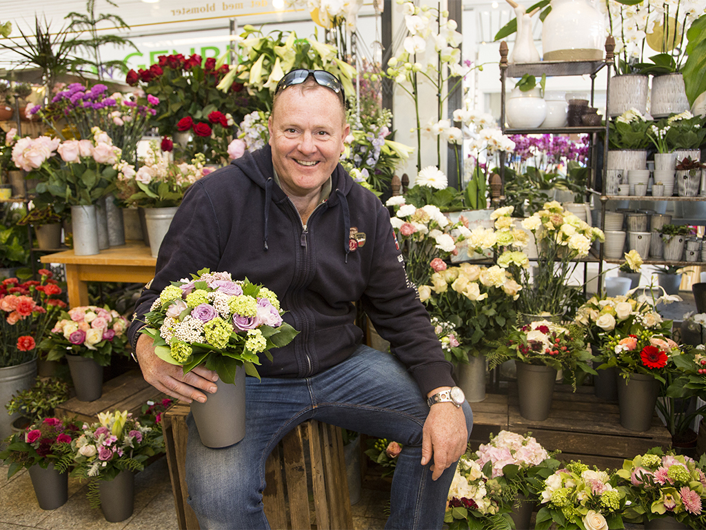 NÆSTFORMAND: Jan Mathiesen, Indehaver, Blomster Hjørnet