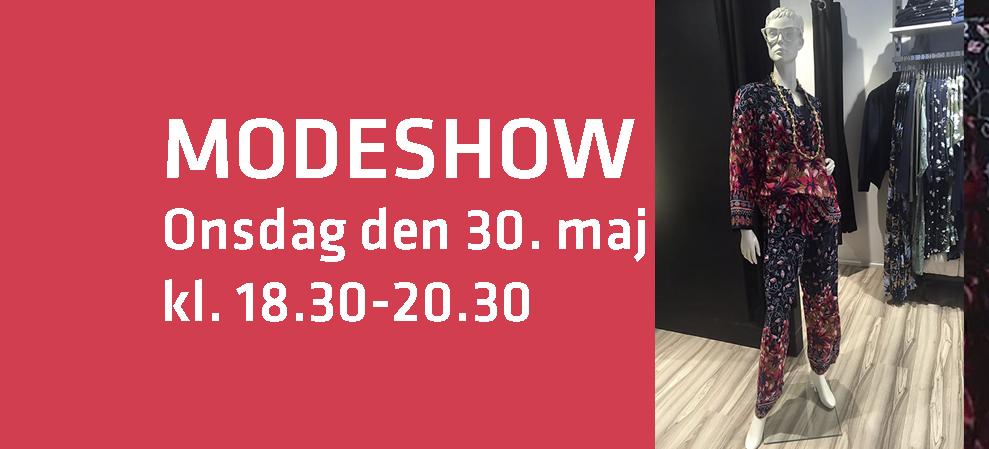 Spændende kundeaften med Modeshow 30/5