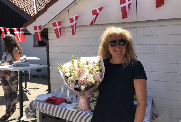 Anne Tærsbøl Pedersen fejrede 10 års jubilæum
