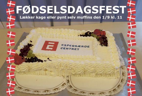 FØDSELSDAGSFEST for FUTTE